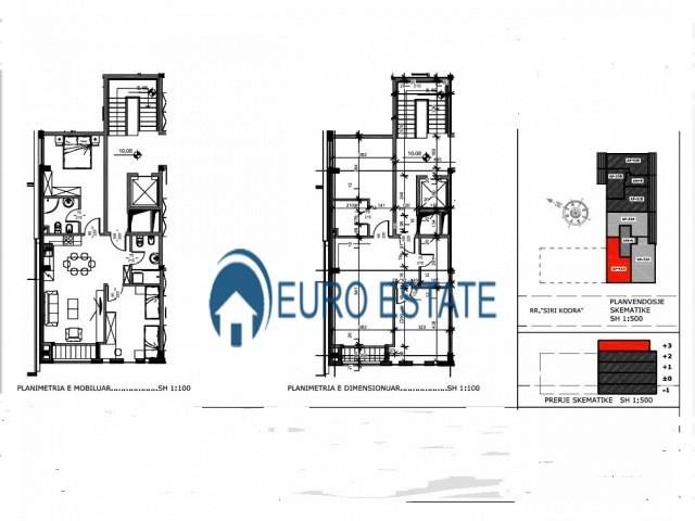 Tirane, shes apartament 2+1+A+BLK Kati 3, 91 m 86.000 Euro (Siri Kodra)