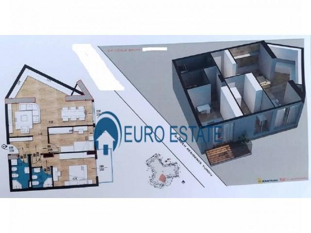 Tirane, shes apartament 2+1+A+BLK Kati 3, 109 m 73.000 Euro (Fusha e Aviacionit)