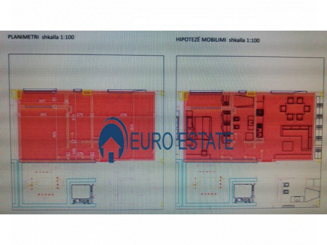 Tirane, shes apartament 1+1+A+BLK Kati 4, 70 m 56.000 Euro (Selite)