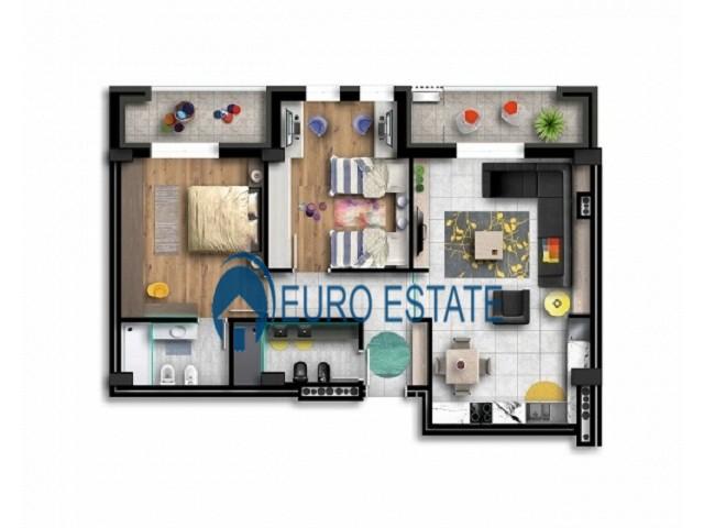 Tirane, shes apartament 2+1+A+BLK Kati 5, 125 m� 143.500 Euro (Zogu I Zi)