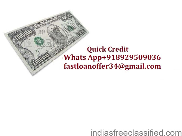 Do you need a Loan Are you looking for Finance