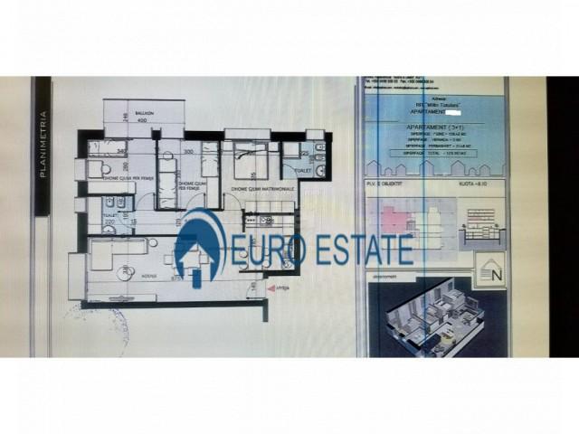 Tirane, shes apartament 3+1+A+BLK 130 m� 325.000 Euro (Tirana e Re)