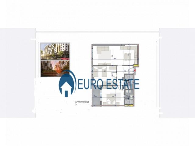 Tirane, shes apartament 2+1+A+BLK Kati 6, 103 m 77.500 Euro (Yzberisht)