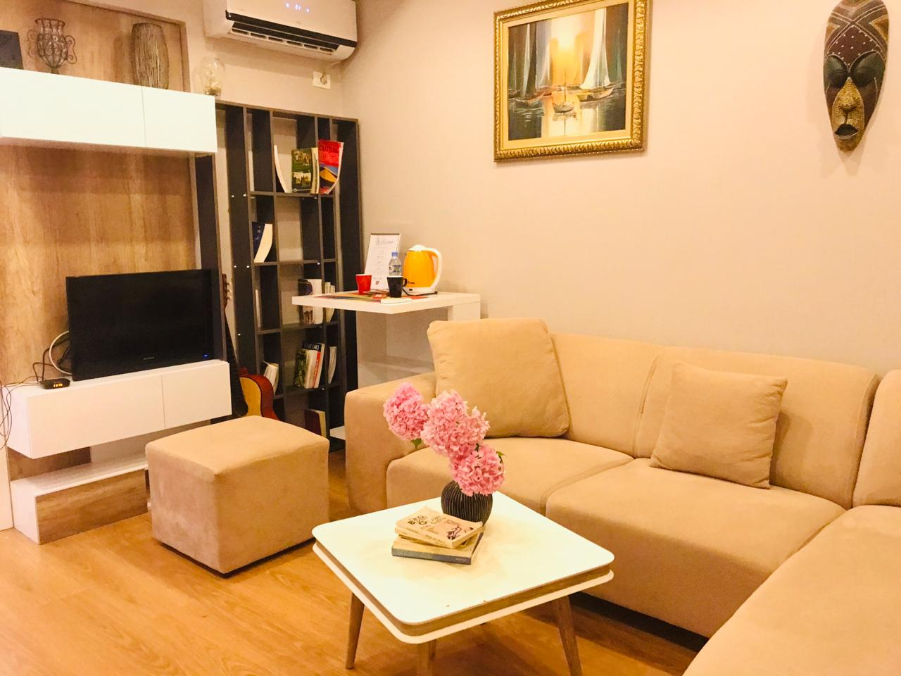 Apartament me qira ditore prane qender te Tiranes