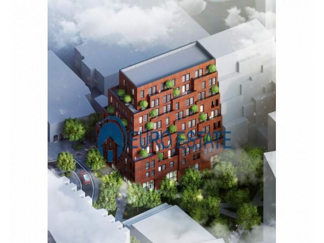 Tirane, shes apartament 1+1+A+BLK Kati 7, 74 m 107.000 Euro (Rr Barrikadave)