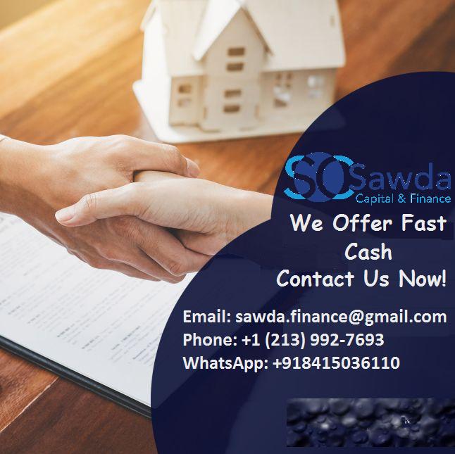 Borrow Money At Sawda Capital Finance