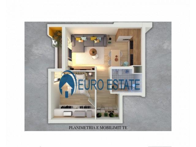 Tirane, shes apartament 1+1+A+BLK Kati 4, 60 m 57.000 Euro (Oxhaku)