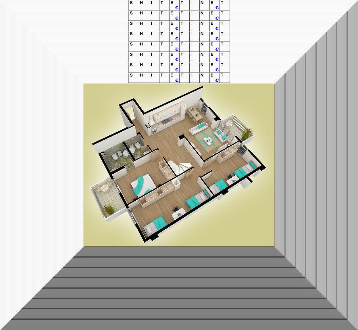 Shitet Apartament 3+1
