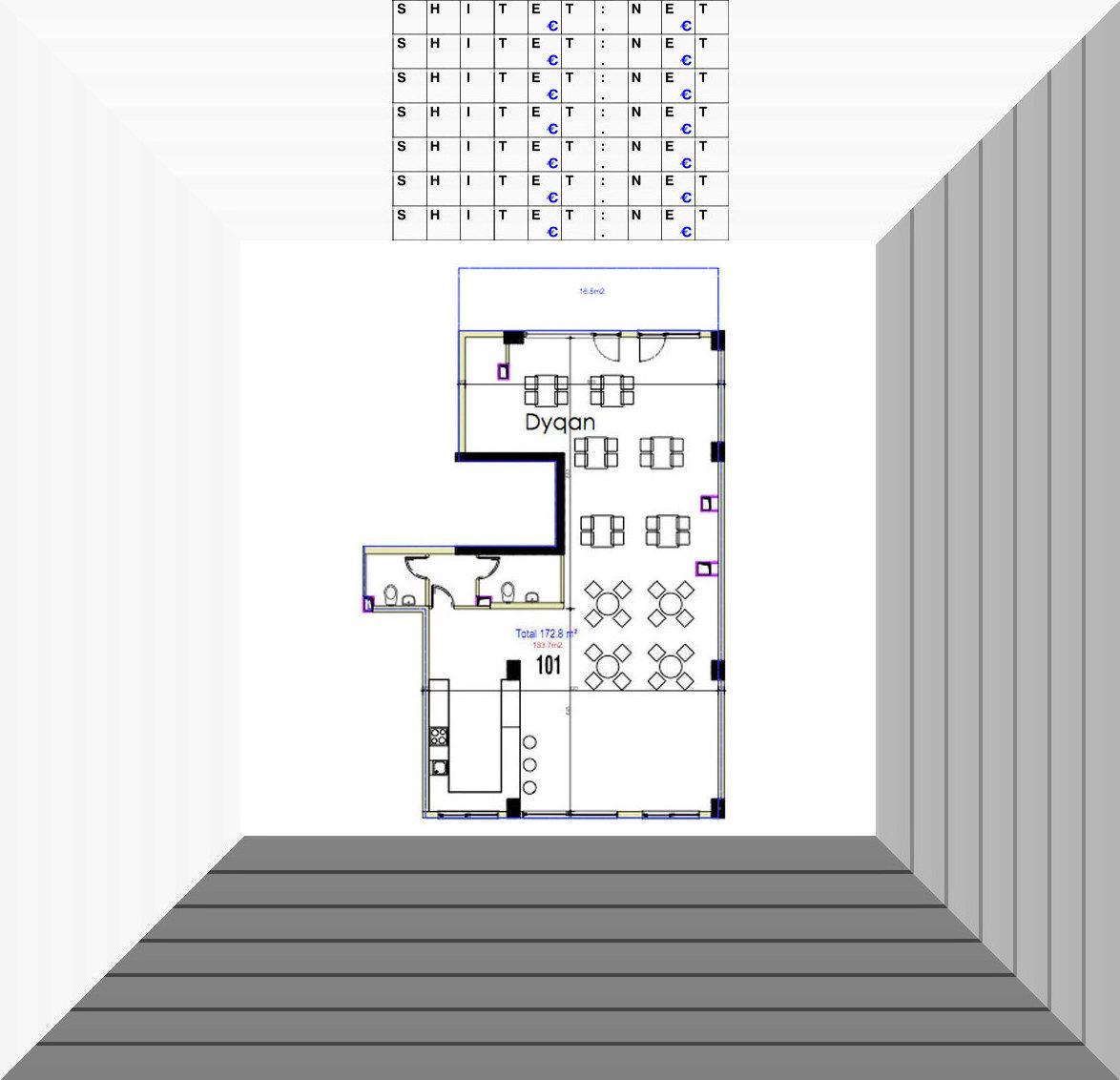 Shitet Ambient BIznesi 172 m2