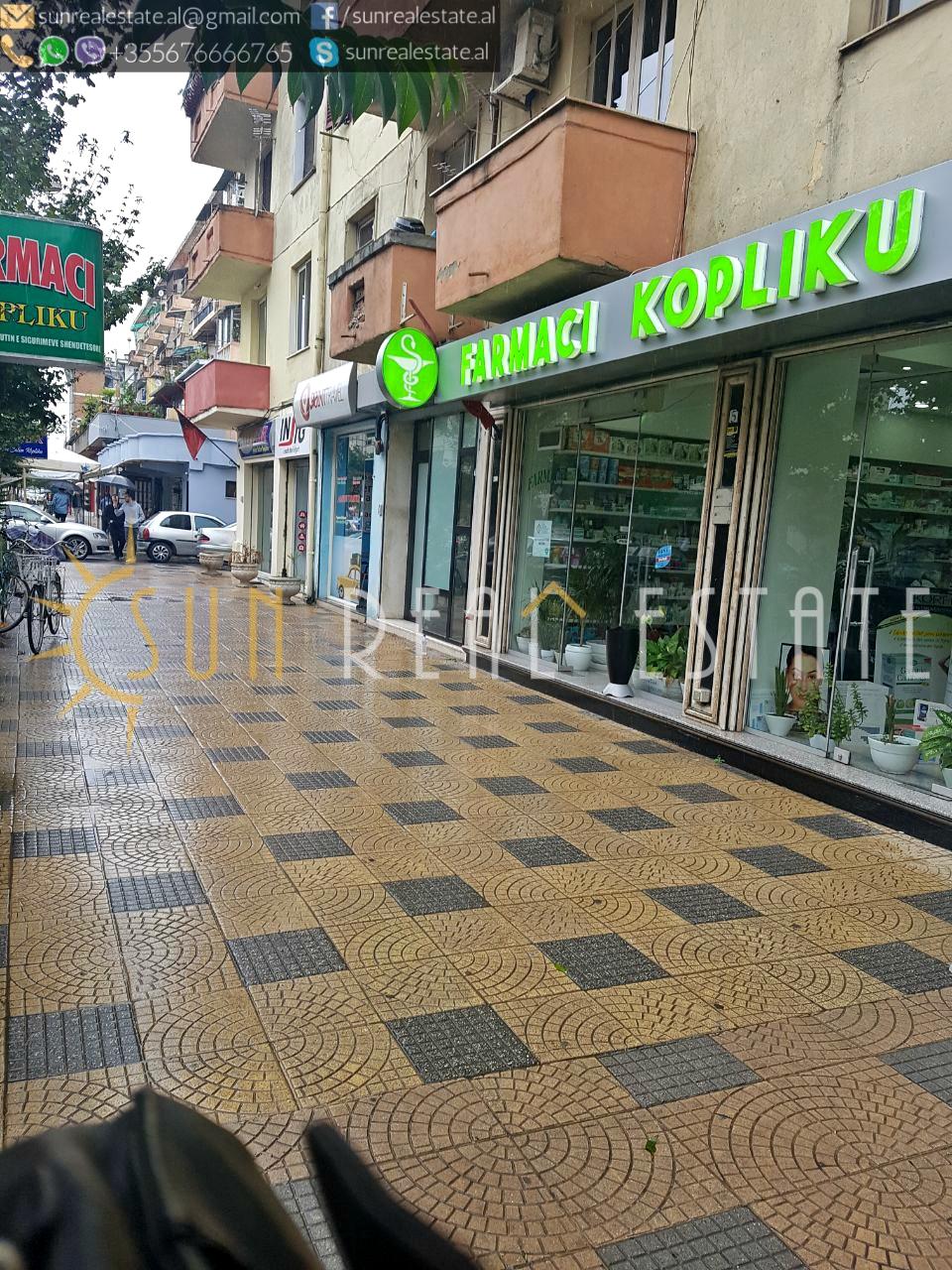Dyqan me qira n� Parruc�