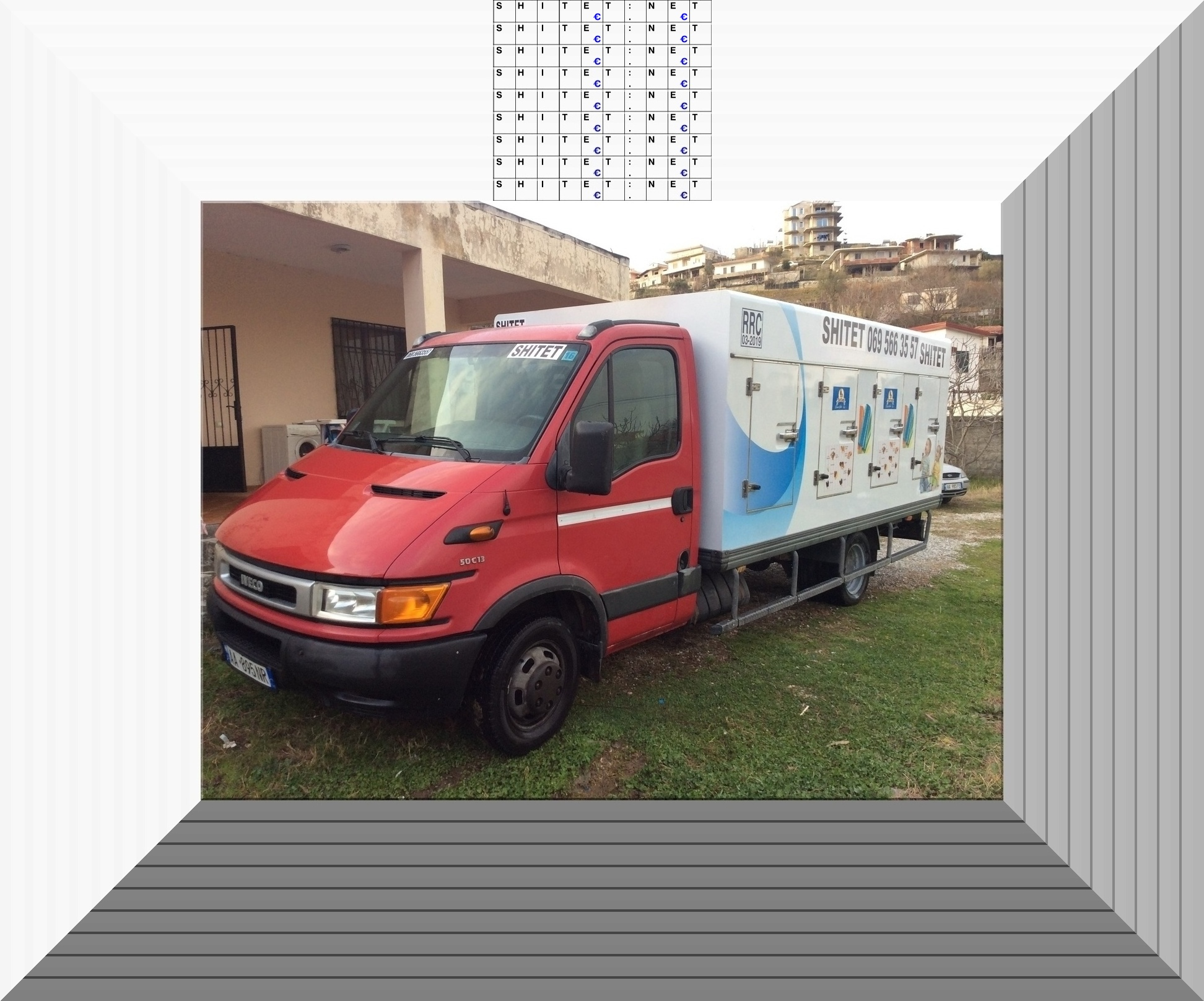 Shitet furgon frigoriferik Iveco