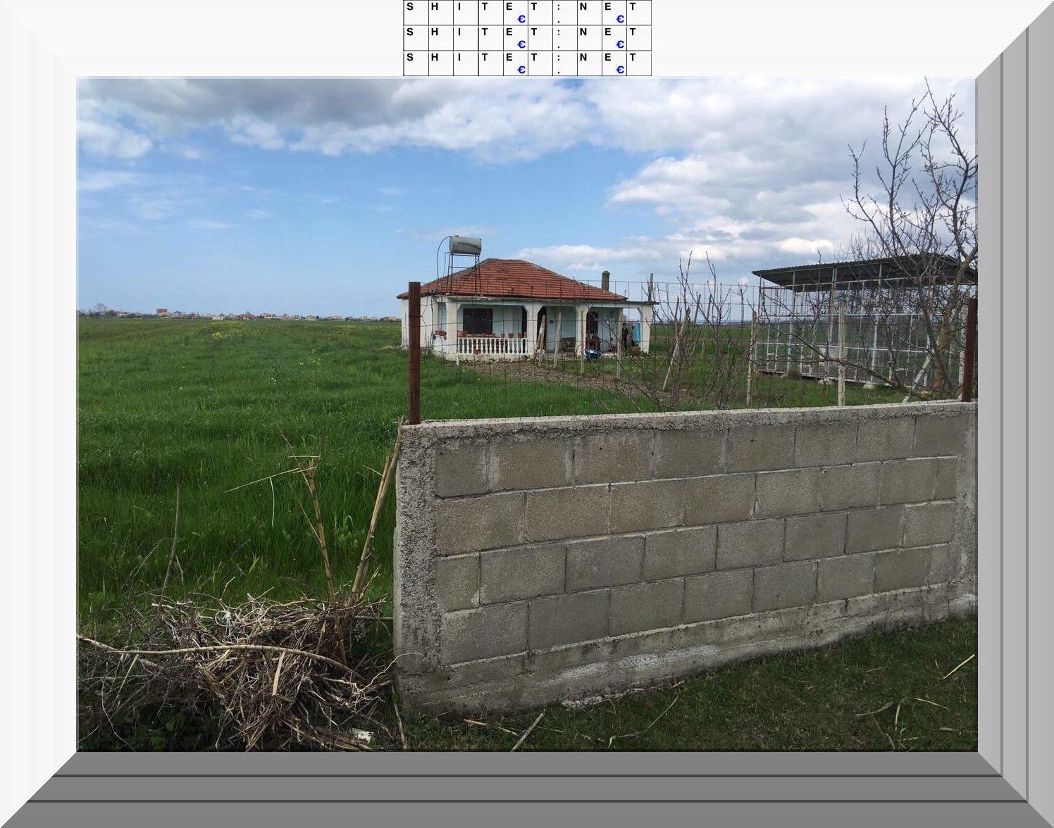 Toke bujqesore + shtepi nje kateshe