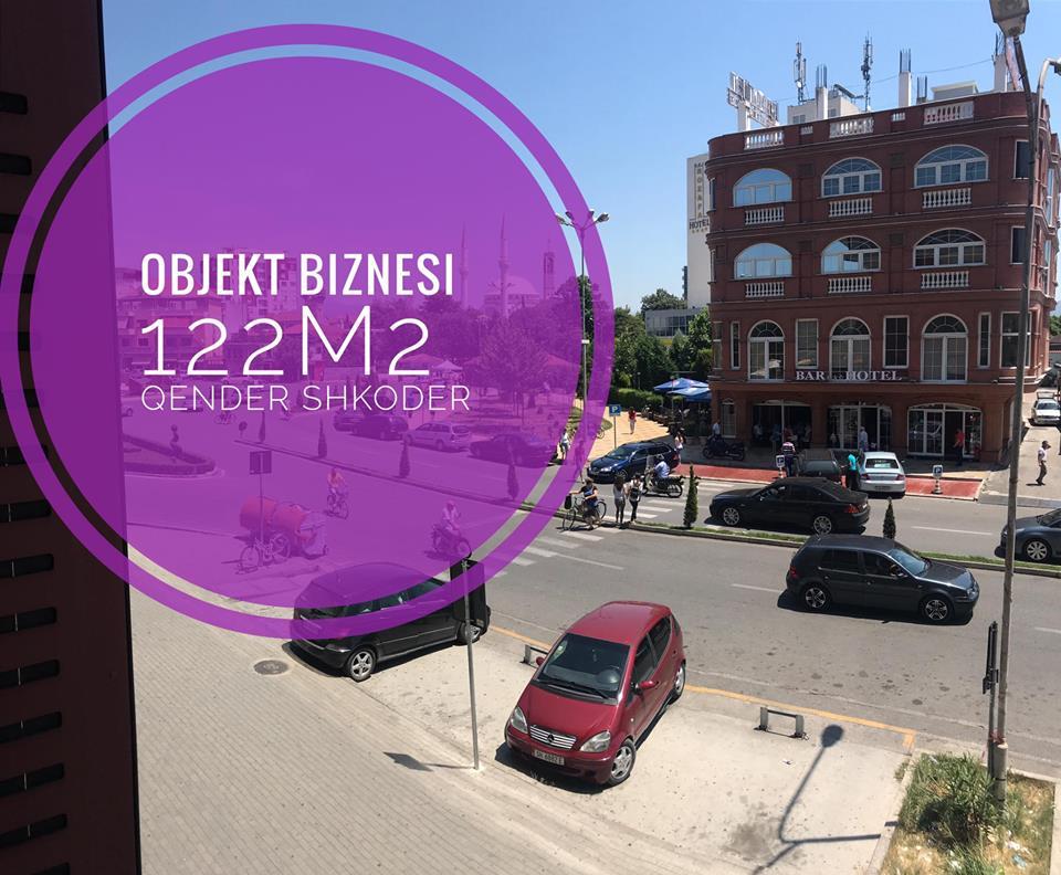 Jepet me qera Objekt Biznesi ne zemer te Shkodres. Ndodhet siper bankave te Radio Shkodra.