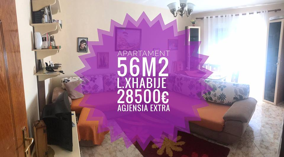 Shitet Apartament 1+1 kati 4 i ndodhur ne L.Xhabije Shkoder