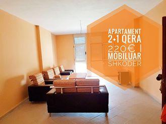 Jepet apartament me qera 2+1 kati 4