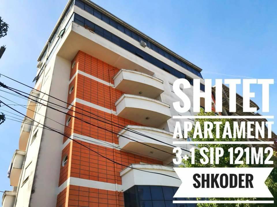 Shitet apartament sip 121m2