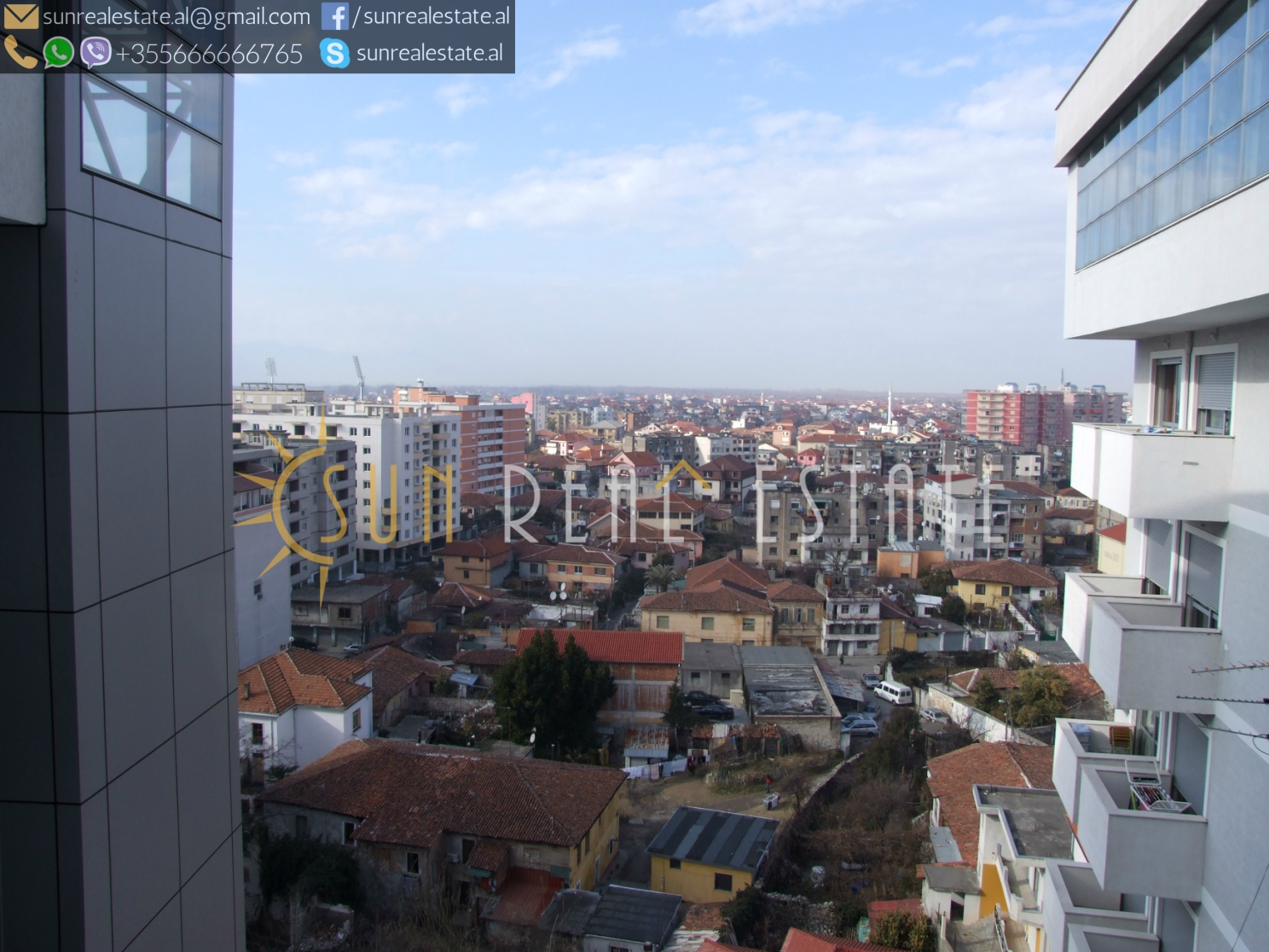 Apartament 2+1 në shitje në qendër të Shkodrës