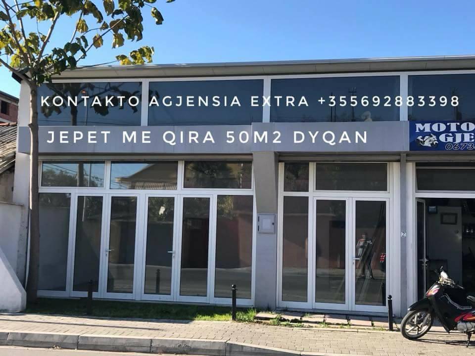 Jepet me qira dyqan sip 50m2 i ndodhur prane Spitalit Rajonal Shkoder