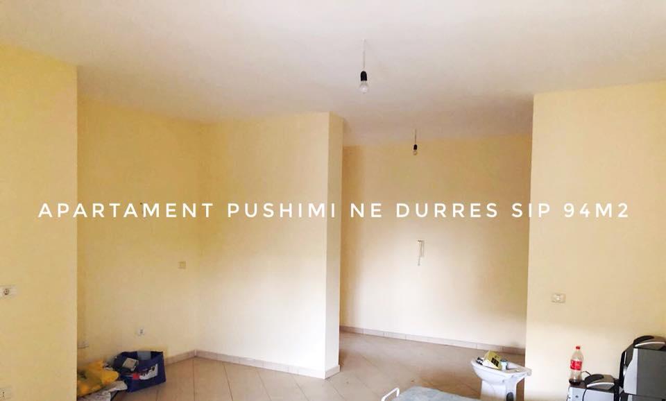 Shitet apartament 2+1 kati 5 ne Durres