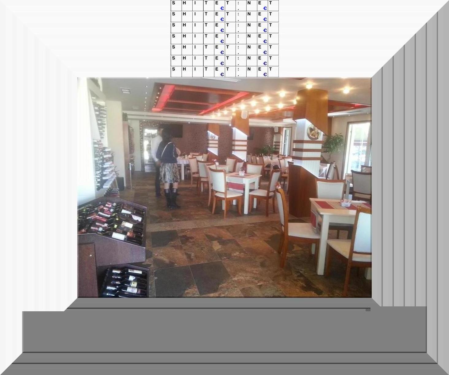 Restorant,Piceri