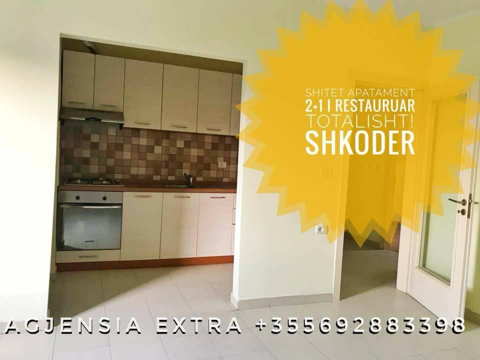 Shitet apartament 2+1 kati 2 ne L.Skenderbeg