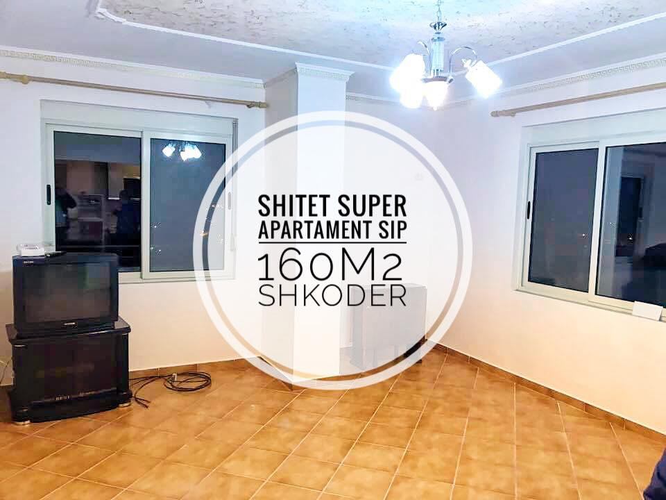 Shitet super apartament 2+1 me 2wc sip160m2