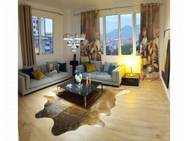Tirane, shes apartament 2+1+A+BLK Kati 7, 100 m2 120.000 Euro (Rruga e Kavajs)
